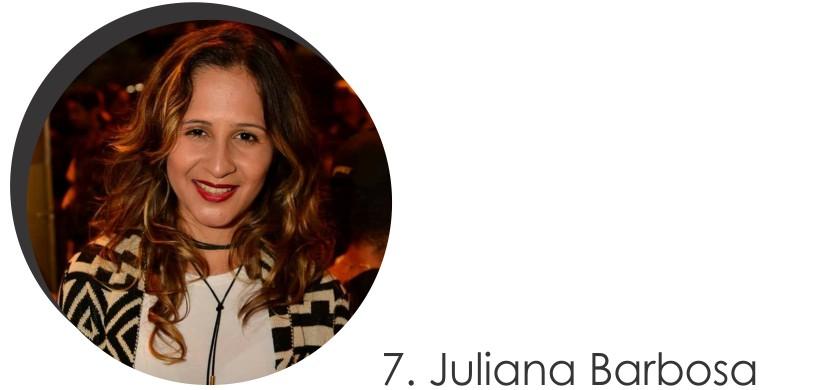 Juliana Barbosa Colaboradora do mês de Junho 2017 do STYLING TIP